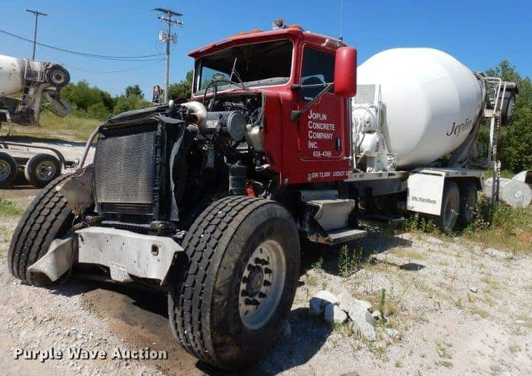 2003 Kenworth W900 Ready Mix Truck